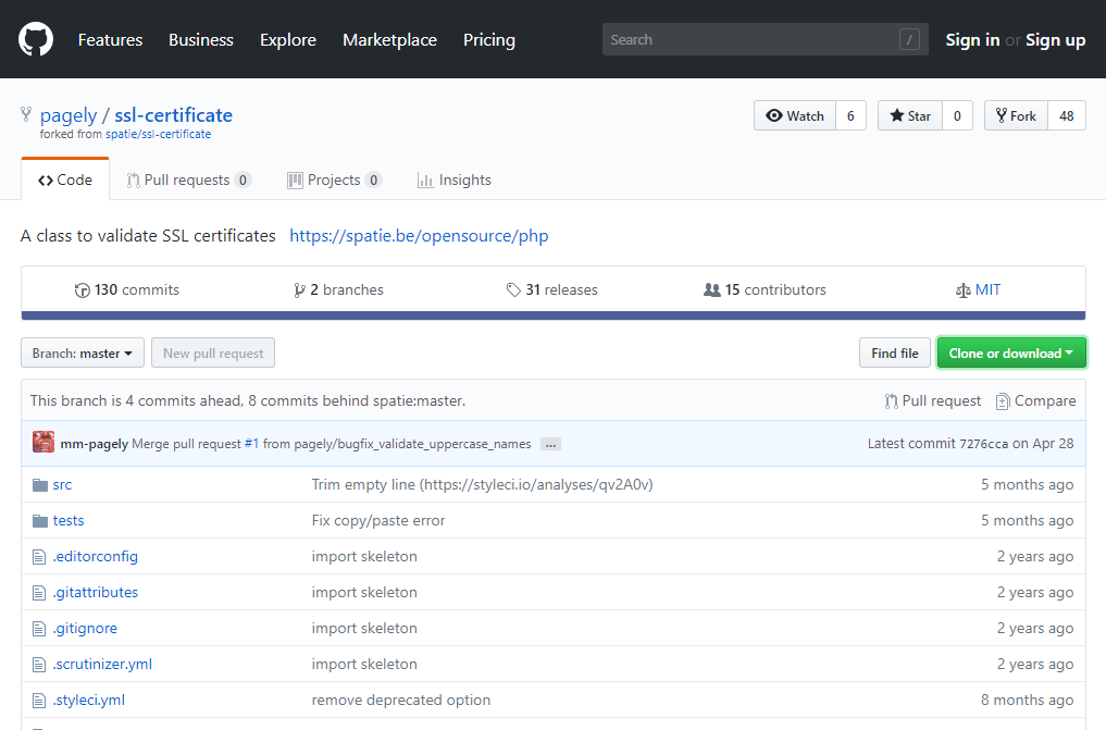 What is GitHub interface like?