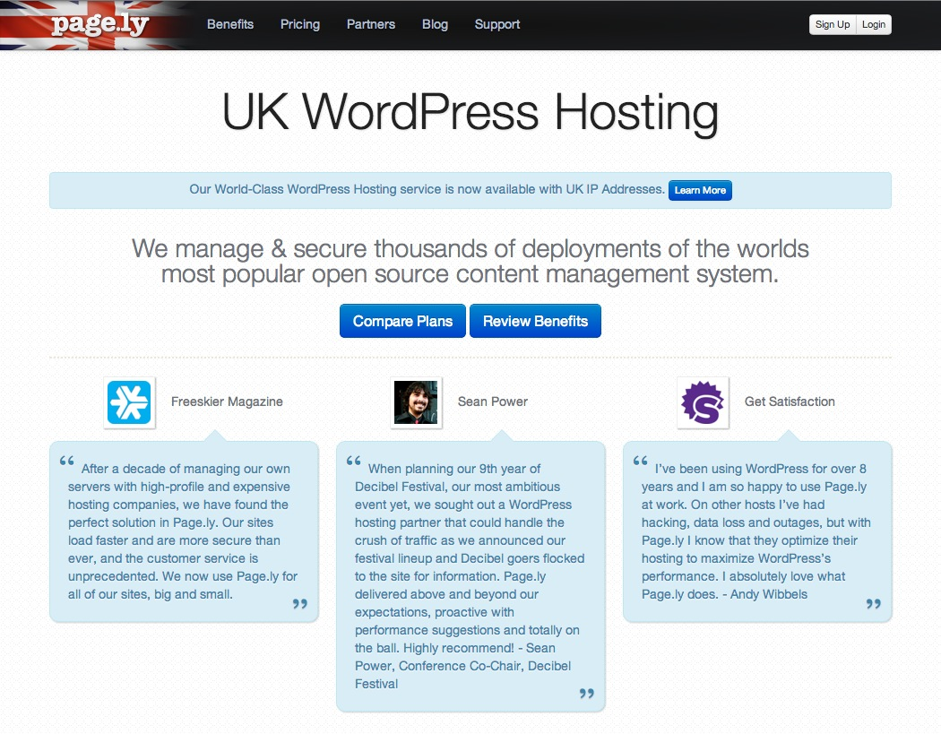 UK WordPress Hosting
