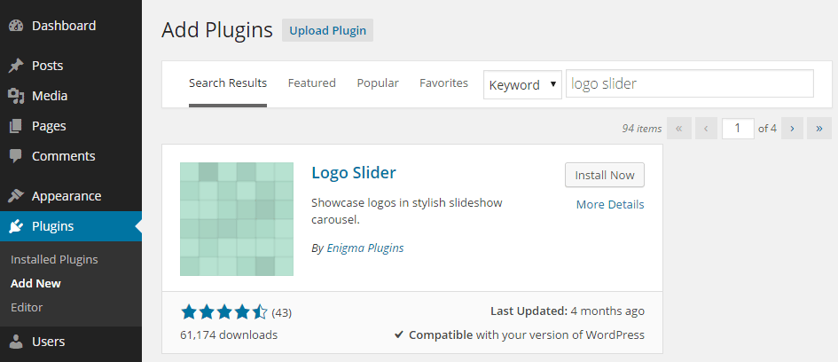 Publish Client and Customer Logos with the Logo Slider Plugin