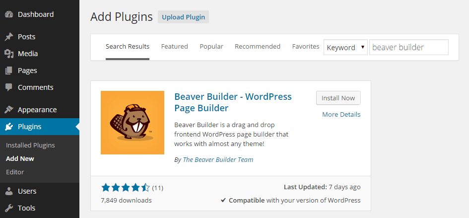 Create Custom Page Layouts for Free with Beaver Builder