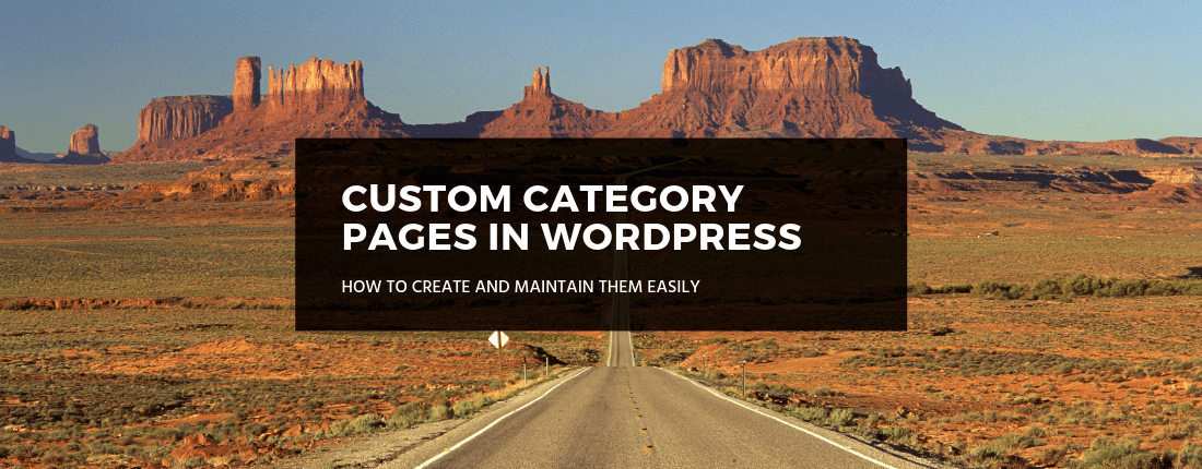 Custom category pages thesis