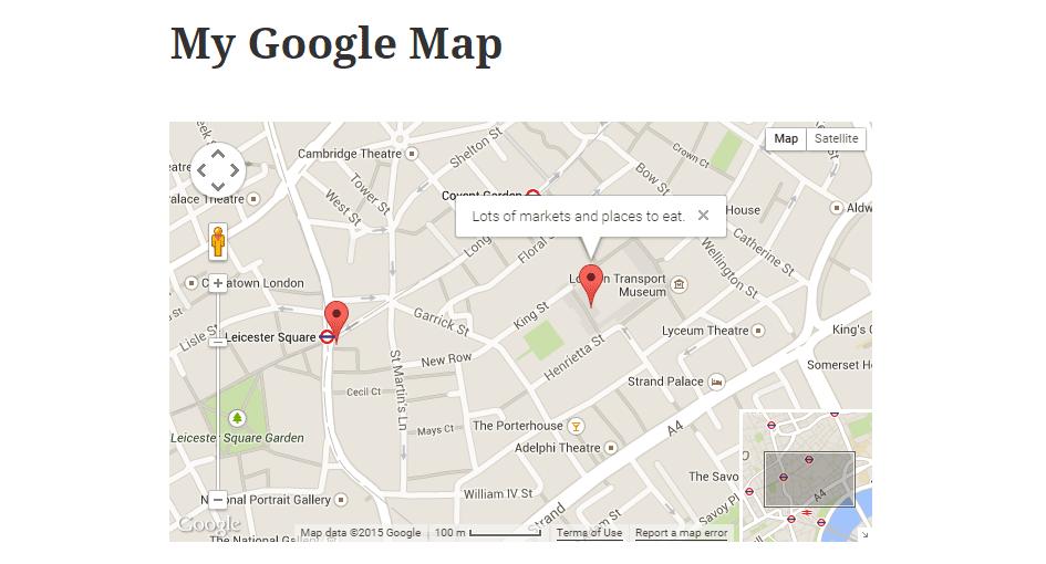 Add Maps to WordPress with WP Google Map Plugin