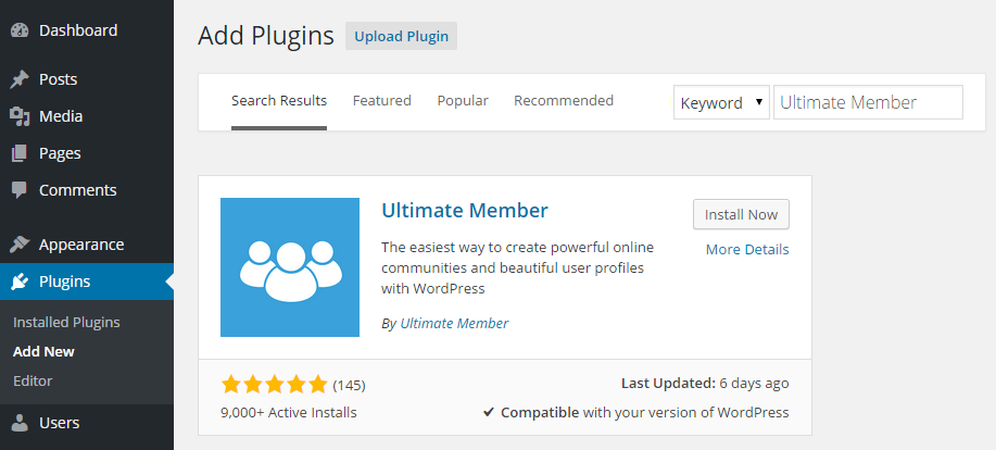 Ultimate Member Add Plugin