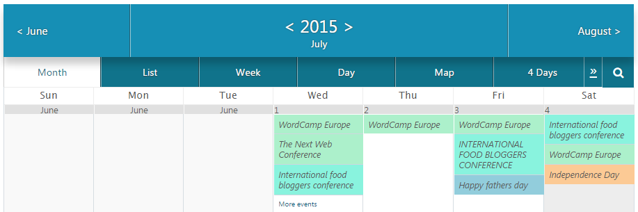 Google Calendar Responsive Design : How to publish a calendar of events on your wordpress site