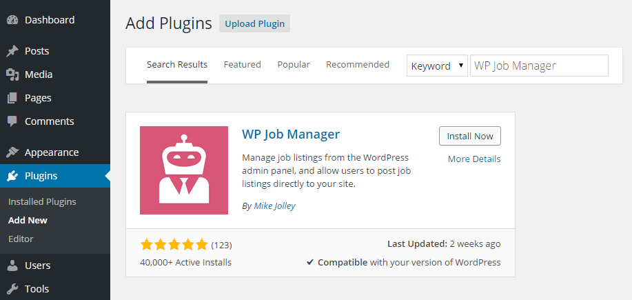 WP Job Manager How to Easily Display Job Listings on Your WordPress