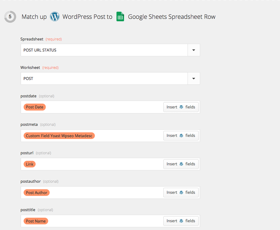 WordPress_Google-sheets_Zap