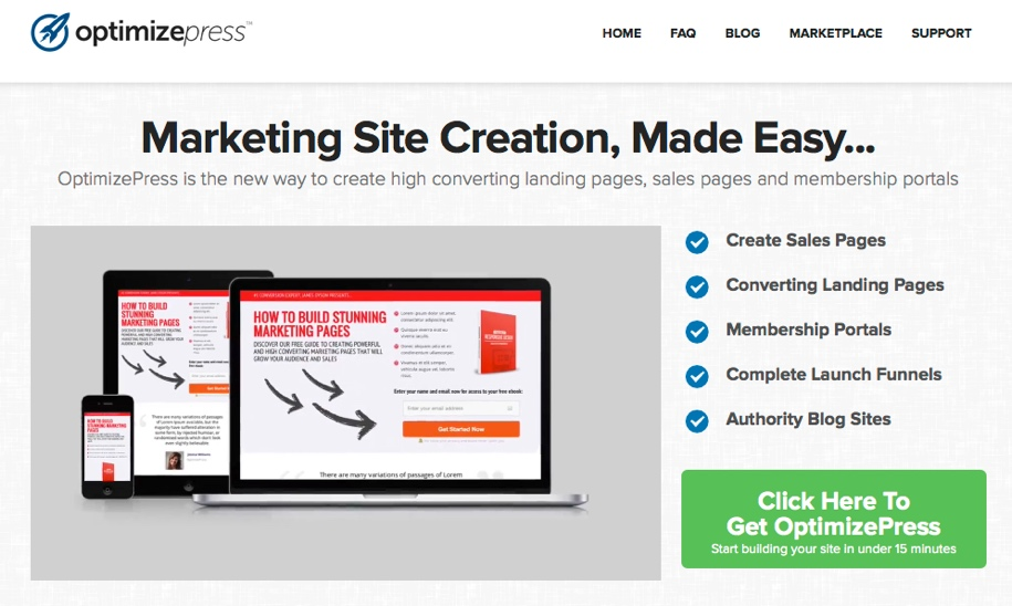 OptimizePress-landing-pages