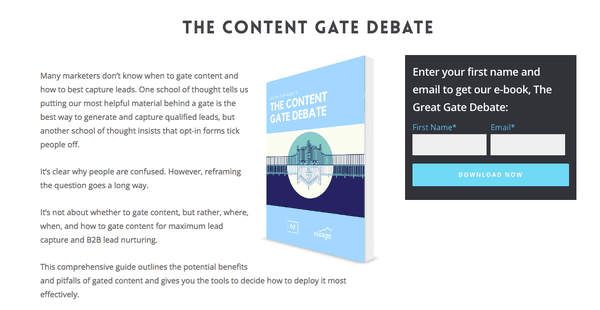 effective squeeze pages for content marketing