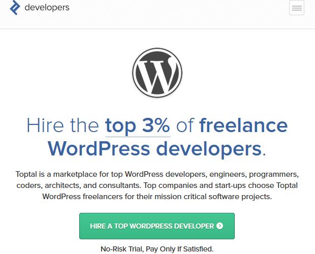 Toptal - WordPress Developer Resource