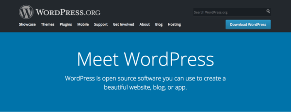WordPress.org Self-Hosted CMS