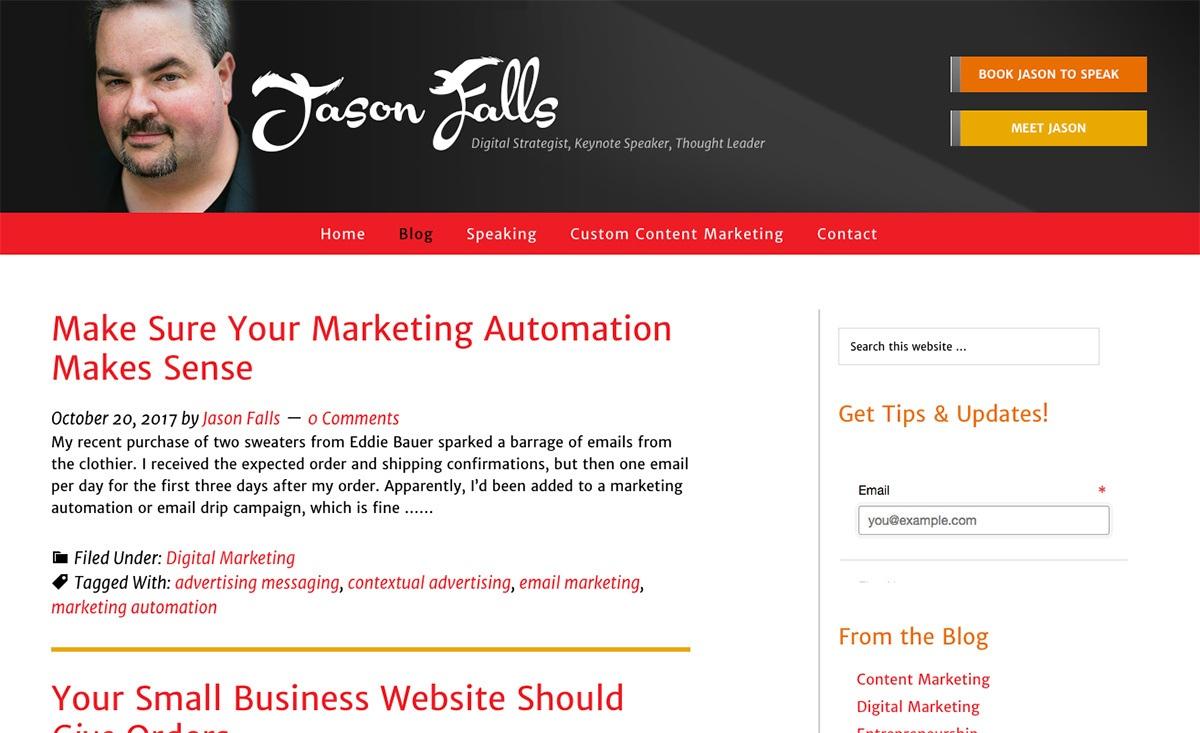 Jason's Falls's blog