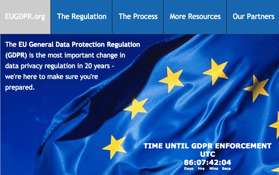 EU GDPR