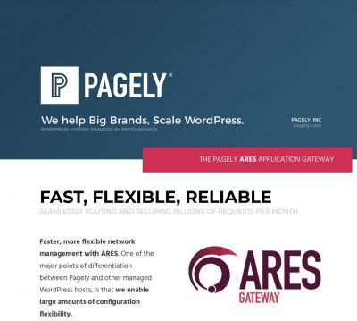 Pagely ARES Feature Brief