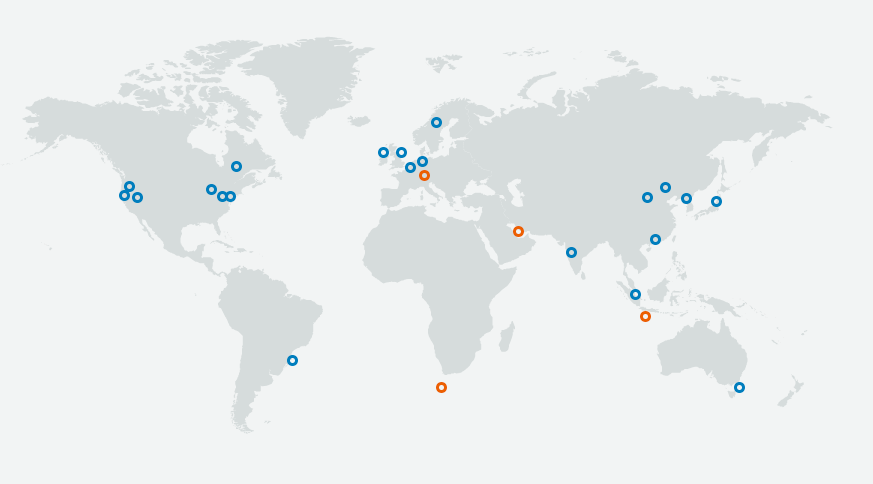 AWS global cloud coverage