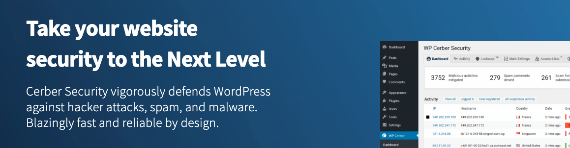 WordPress malware scanner plugin