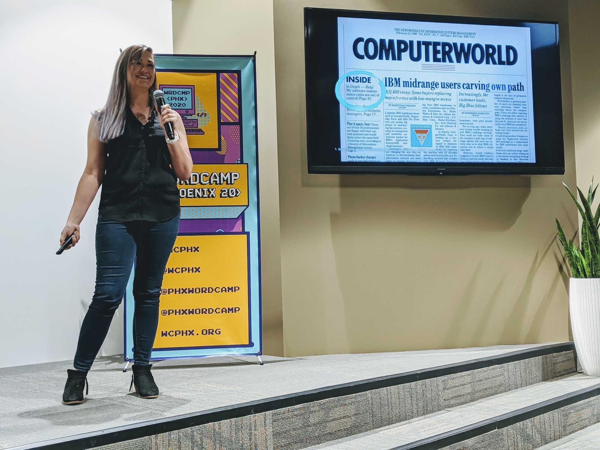 maura teal wordcamp phoenix 2020
